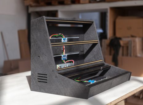 2-Many-Synths---10U-104HP-VCS3-style-Eurorack-case-in-black-coloured-linseed-oil---IMG_0475-copy