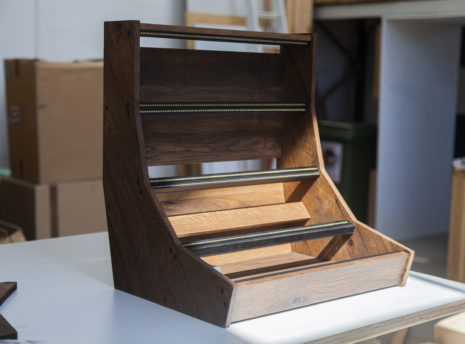 2 Many Synths - 12U 84HP Eurorack case with brown linseed oil - IMG_7575