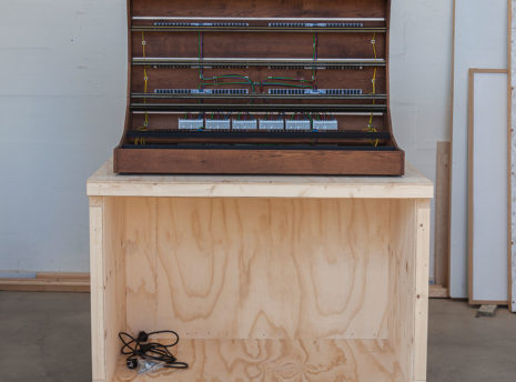 2 Many Synths - 19U 200HP Solid Oak Eurorack Case - Special Edition for BoBeats IMG_9171