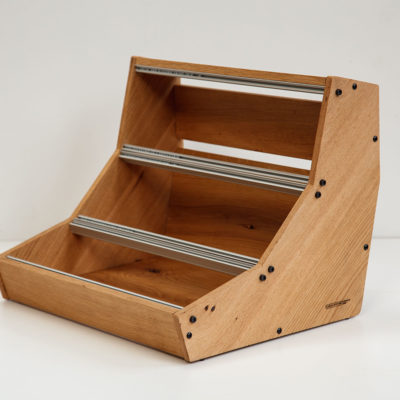 BLACK FRIDAY: 9U 84HP Solid Oak Eurorack case (FREE power, shipment INCLUDED)