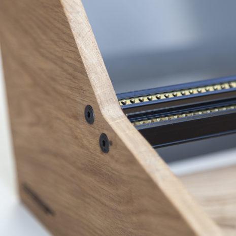 2 Many Synths - Eurorack case 6U 84HP with black rails & plexiglass (1)