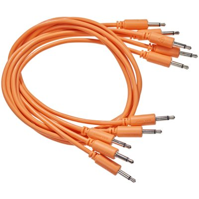 set of 5 orange cables