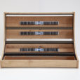 Eurorack case 12U 126HP solid Oak – 2 Many Synths – IMG_7219 web