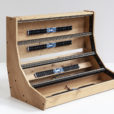 Eurorack case 12U 126HP solid Oak – 2 Many Synths – IMG_7245 web
